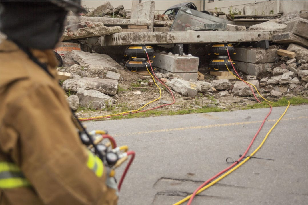 Rescue Air-Bag Testing Service