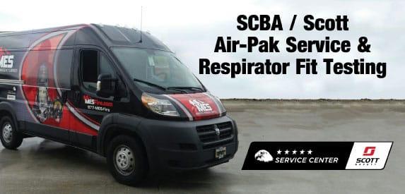 SCBA Scott Air-Pak Service